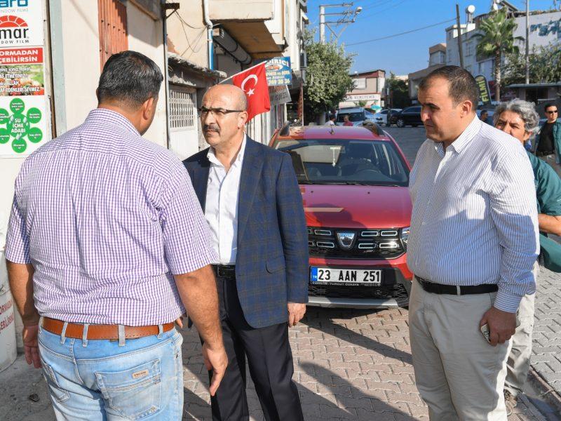 Vali Mahmut Demirtaş, geçtiğimiz günlerde polis aracına