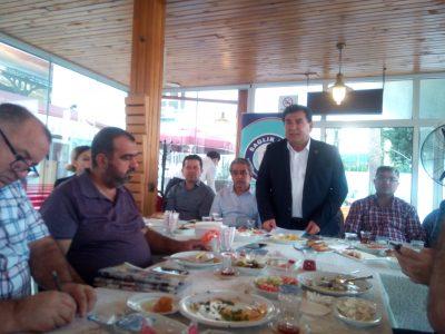 Başkan Nennioğlu, kahvaltının ardından gazetecilere yönelik bir açılış konuşması yaparak konuşmasınd