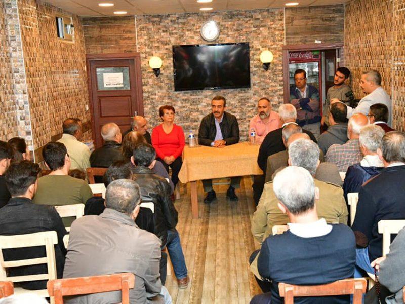 Mesela Adana Koop'taki pazar yerinin üstünü kapatacağımızı söylemiştik ve bu vaadimizi gerçekleştireceğiz.