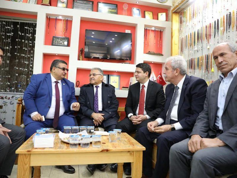 Kayseri Büyükşehir Belediyesi arasında kurulan kardeşlik bağının ilk somut adımını Kayseri Büyükşehir Belediye Başkanımız Dr. Sayın Memduh Büyükkılıç'ın ziyareti ile atmış olduk