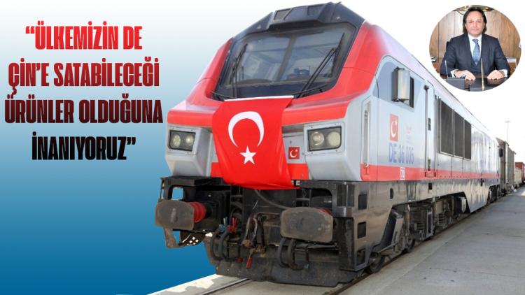 Türkiye'nin desteklediği Orta Koridor hattının aktifleşmesi ve Türk ihracatçılarına açılacak kapılar hakkında değerlendirmelerde bulundu.