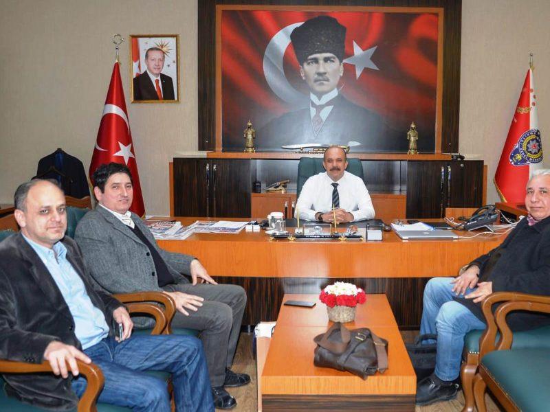 Yerel Medya Güç Birliği Platformu Başkanı Kamil Yalçın Göl ise kabulünden dolayı Adana Emniyet Müdürü Zafer Aktaş'a teşekkürlerini iletti.