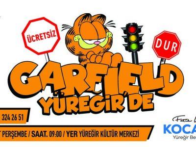 Garfield Trafikte' çocuklarımızın keyifle izleyeceği, trafik kurallarını eğlenerek öğrenecekleri harika bir oyun. Kültürel faaliyetler anlamında Yüreğir'de ilkleri yapmaya çalışıyoruz.