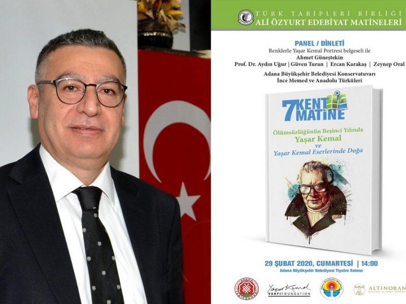 Görkemli anma, Adana Büyükşehir Belediyesi Tiyatro Salonu'da 29 Şubat 2020 tarihinde Saat: 14.00'da Adana Büyükşehir Belediyesi Konservatuvar sanatçılarının konseriyle başlayacak.