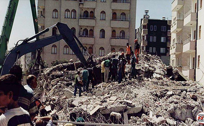 """Belediye Başkanı Kadir Aydar; """" Biz büyük Ceyhan depreminde 145 canımızı kaybetmiş bir ilçeyiz. Deprem ülkemizin bir gerçeği. Deprem değil, bina öldürür"""