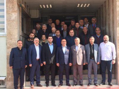 Ceyhan Ticaret Borsası'nda gerçekleşen basın toplantısında; Esnaf Kefalet Kooperatifi,