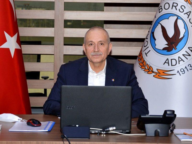 Adana Ticaret Borsası 24 ve 25'inci birleştirilmiş Olağan Meclis Toplantısı Osman Bağış'ın başkanlığında videokonferans yöntemiyle gerçekleştirildi.