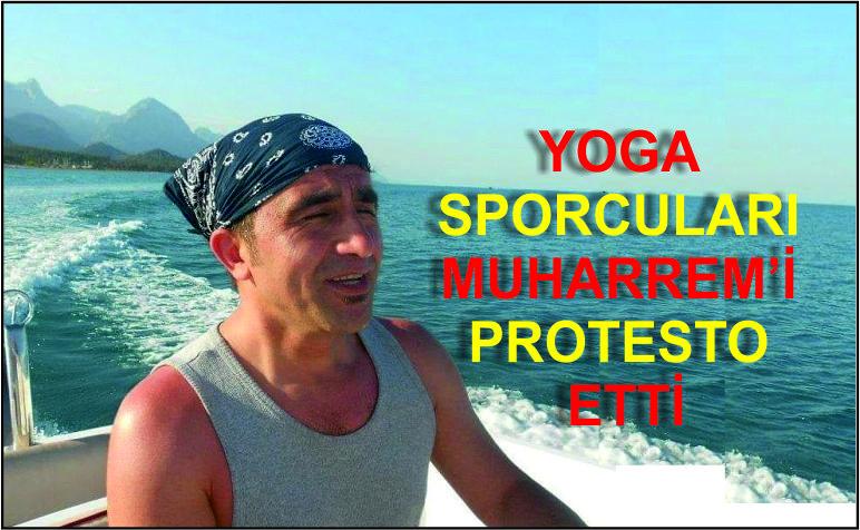 """#Yoga Fest yapıyor anlamadım. Hiç kendisi yoga yapmamış biriymiş, o yüzden yoga organizasyonunun gerçek olduğunu düşünmüyorum."""""""