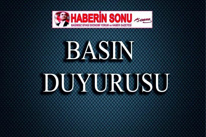 """#LGS SINAVI"""" İLE İLGİLİ BASIN DUYURUSU"""