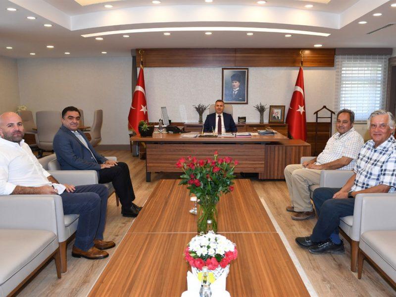 Sohbet ortamında gerçekleşen ziyarette kısa bir değerlendirmede bulunan Vali Elban;