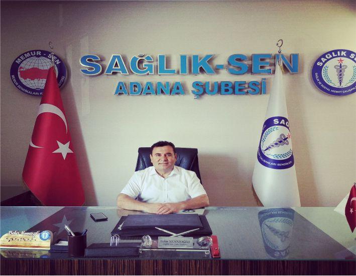 Biz Adana Sağlık-Sen şubesi olarak şu an en büyük görevi salginla mücadele etmek olan ve birçok konuyu bürokratlarına havale eden diğer konularda olduğu gibi bundada yeterince bilgilendirilme yapılmadığını düşündüğümüz