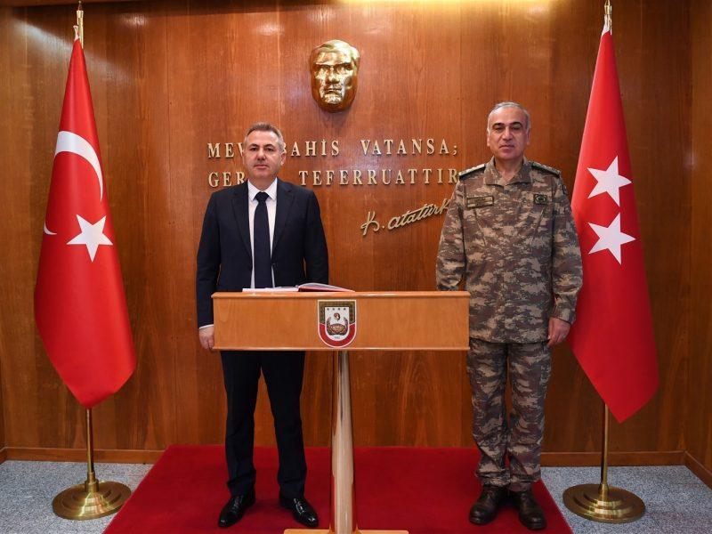 Vali Süleyman Elban'ın konuşmasının ardından ziyaret yapılan bilgilendirmelerin ve değerlendirmelerin ardından sona erdi