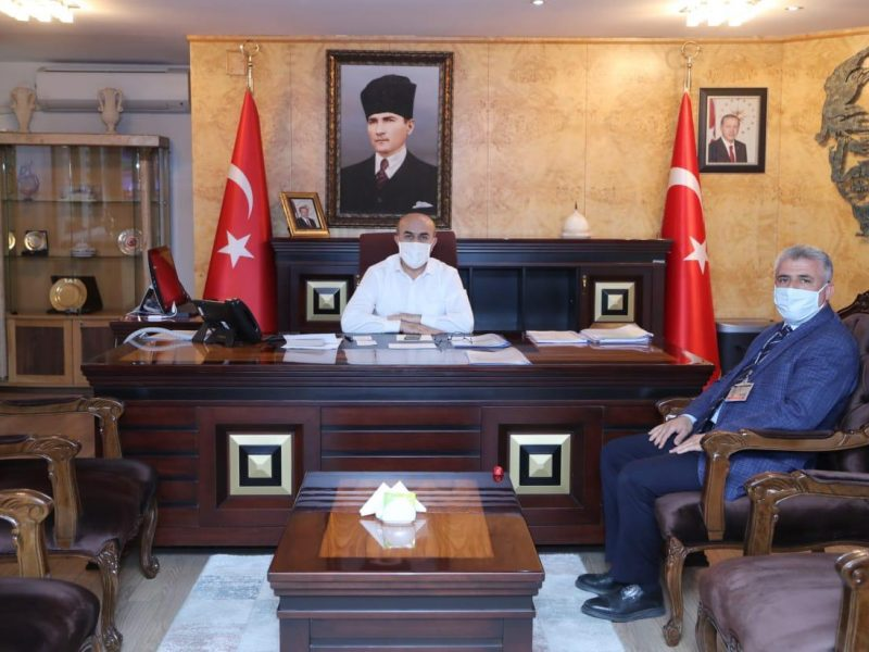 Mardin Valiliği'ne atanan #MahmutDemirtaş'ı makamında ziyaret ederek hayırlı olsun