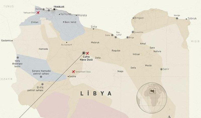 Başkent Trablus'a 180 km uzaklıktaki Vatiyye, Türkiye'nin Libya'da kurmayı planladığı iki askeri üsten biri.