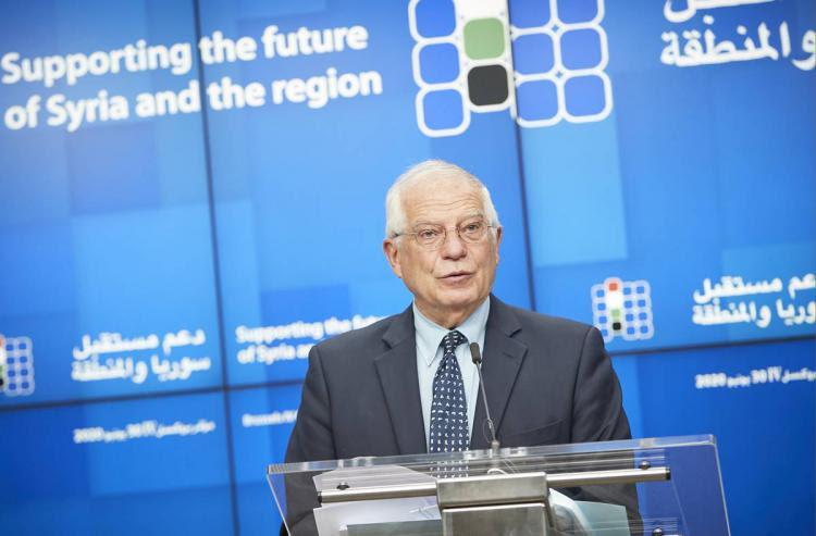 """AB'nin ev sahipliğinde ve Birleşmiş Milletler eş başkanlığında düzenlenen """"Suriye ve Bölgenin geleceğinin desteklenmesi"""" konulu IV. Brüksel Konferansı'nda,"""