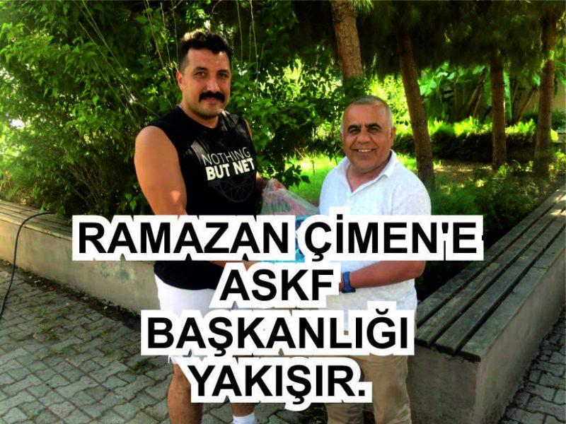 """Adana Amatör Spor Kulüpleri Federasyonu (ASKF) Başkan Adayı Ramazan Çimen, gittiği tüm kulüplerde """"Başkan"""" gibi büyük coşkuyla karşılanıyor.."""