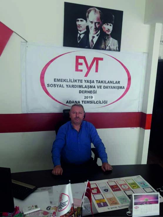 EYT Derneği Adana Başkanı Uğur Altuntaş da Aydınlık'a yaptığı açıklamada, kimsenin EYT'lileri kullanmaya çalışmaması yönünde uyarıda bulunarak,
